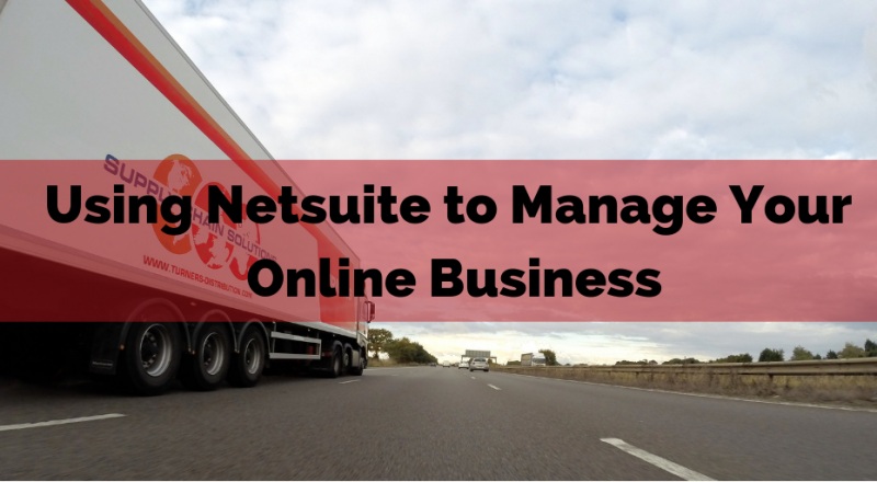 Online Business with netsuite