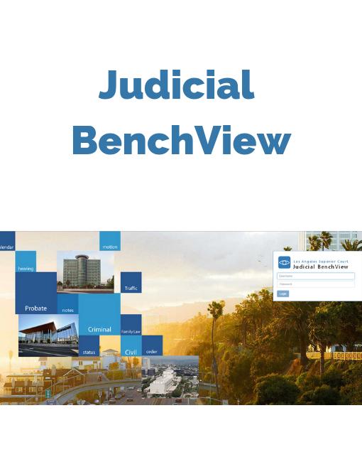 Judicial Bencview Project