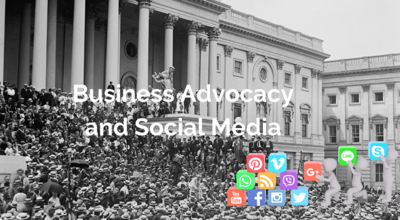 Business advocacy and social media
