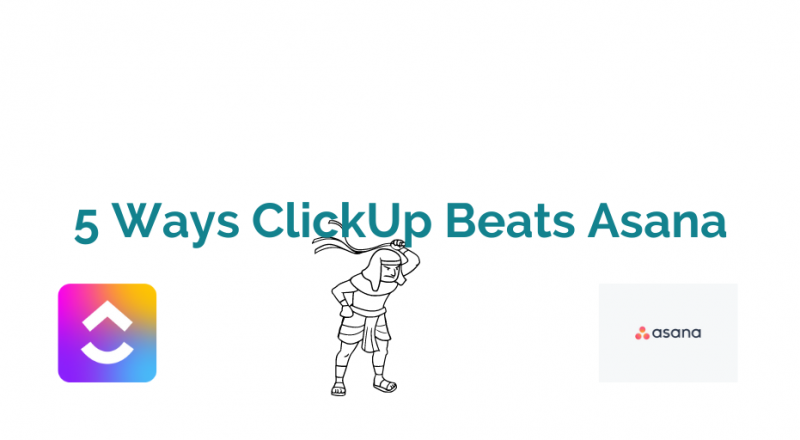 5 Ways ClickUp Beats Asana